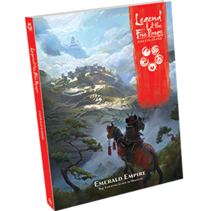 Legend Of The 5 Rings RPG: Emerald Empire Supplement
