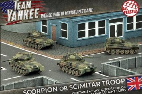 Team Yankee - Scorpion or Scimitar Troop