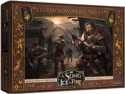A Song Of Ice And Fire: Neutral Stormcrow Mercenaries Expansion