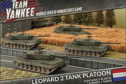 Team Yankee - Leopard 2 Tank Platoon