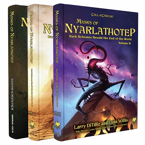 Call Of Cthulhu: Masks Of Nyarlathotep Campaign Slip Case Edition
