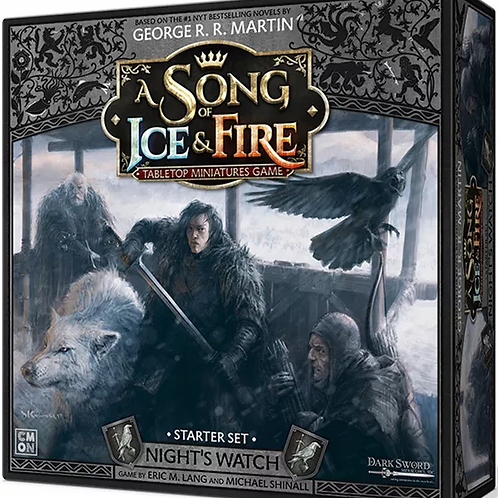 A Song Of Ice And Fire: Night's Watch Starter Set