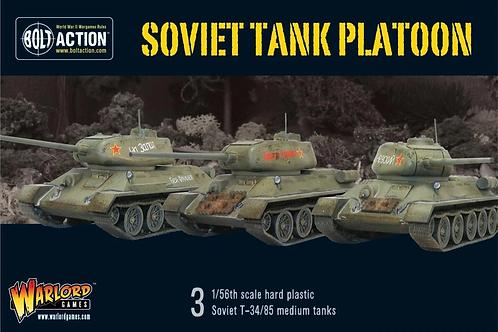 Soviet tank platoon - T-34/85