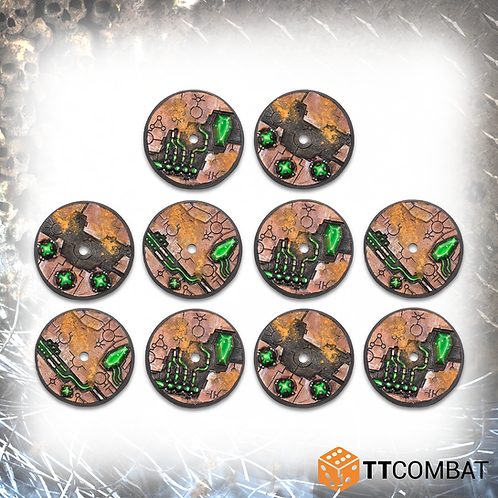 32mm Tomb World Flying Bases