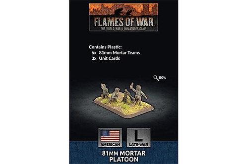 Flames Of War - 81mm Mortar Platoon [US804]