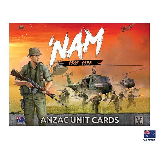 ANZAC Unit Cards