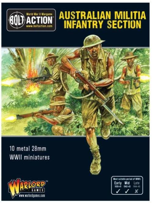 Australian militia infantry section (Pacific))