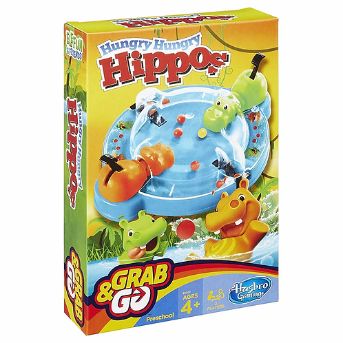 Hungry Hungry Hippos (Grab & Go Edition)