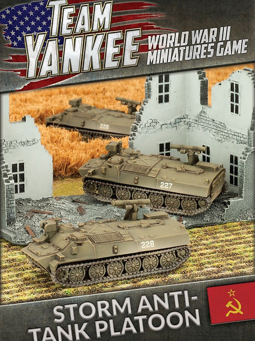 Team Yankee - Storm Anti-tank Platoon