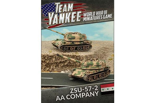 Team Yankee Oil War - Iraqi ZSU-57-2 AA Company