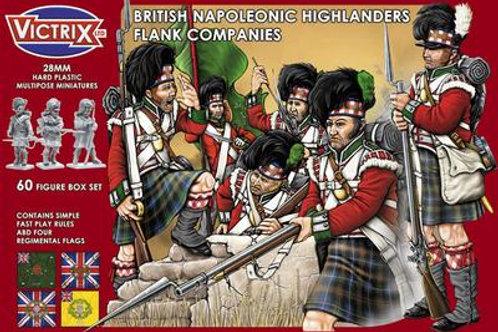 VICTRIX - British Napoleonic Highlander Flank Companies (28mm)