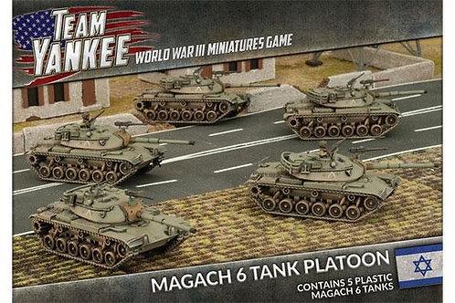 Team Yankee Oil War - Magach 6 Tank Platoon