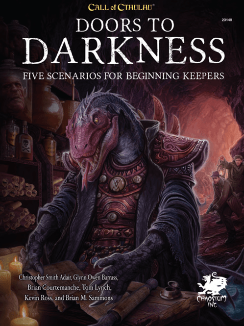 Call Of Cthulhu: Doors To Darkness Supplement