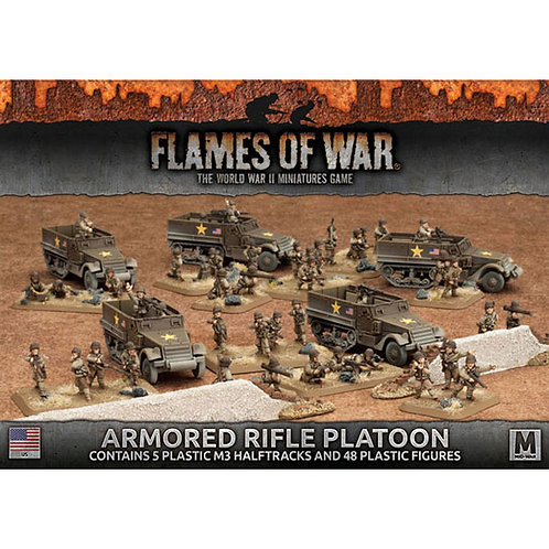 Flames Of War - Armoured Rifle Platoon (Plastic) [UBX51]