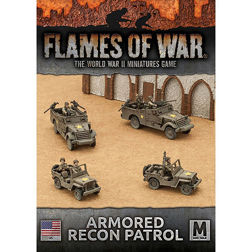 Flames Of War - Armoured Recon Patrol [UBX59]