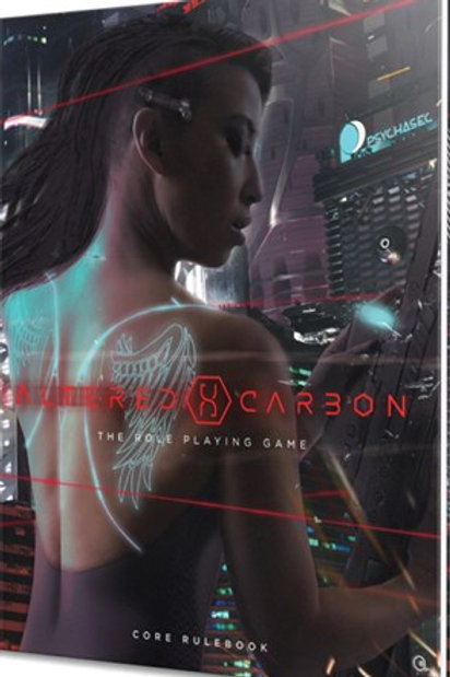 Altered Carbon RPG: Core Rules