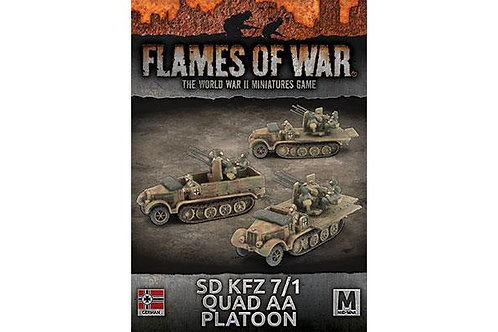 Flames Of War - Sd Kfz 7/1 Quad AA Platoon