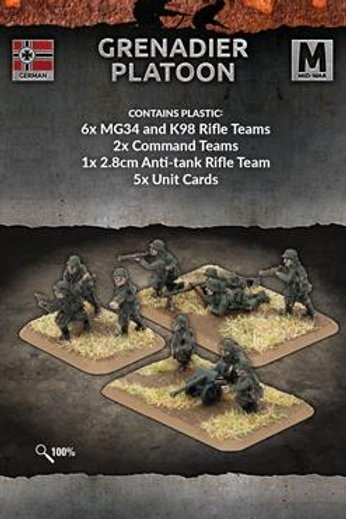 Flames Of War - Grenadier Platoon (M)