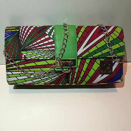 CHIAKA -AUTHENTIC AFRICAN CLUTCH
