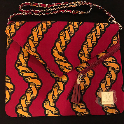 NNEOMA -AUTHENTIC AFRICAN CLUTCH