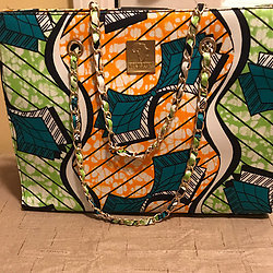 NNENNA - AUTHENTIC AFRICAN TOTE