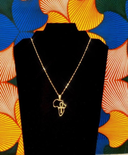 AFRICA IS LIFE NECKLACE