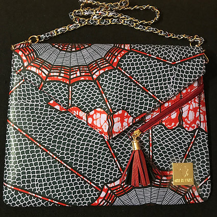 AISHA - AUTHENTIC AFRICAN CLUTCH