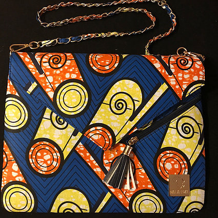 IJEOMA - AUTHENTIC AFRICAN CLUTCH