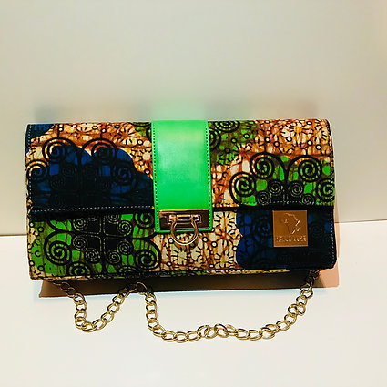 OLAMMA - AUTHENTIC AFRICAN CLUTCH