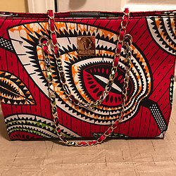NNEKA - AUTHENTIC AFRICAN TOTE