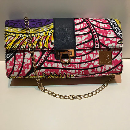 IFECHI - AUTHENTIC AFRICAN CLUTCH