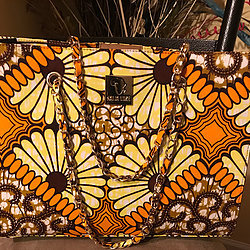 KELECHI - AUTHENTIC AFRICAN TOTE