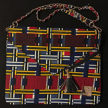 RABBIE - AUTHENTIC AFRICAN CLUTCH