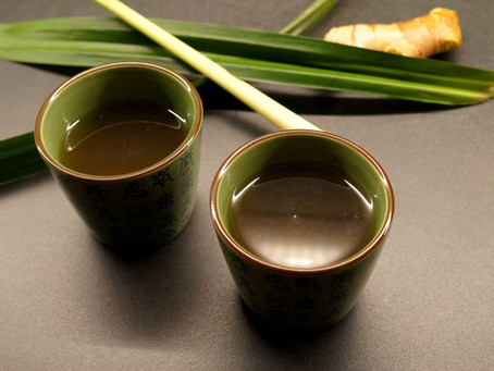 The Healing Potion - a cup of lemongrass tea a day, keeps the health risk away.