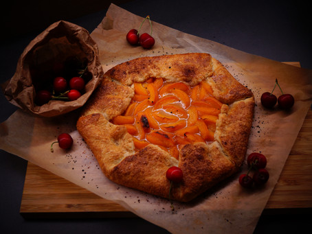 Cinnamon Apricot Galette