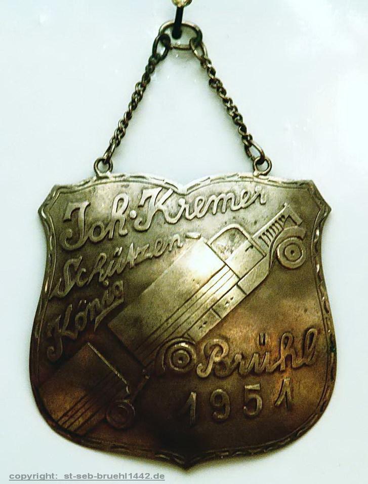 Schützenschild 1954