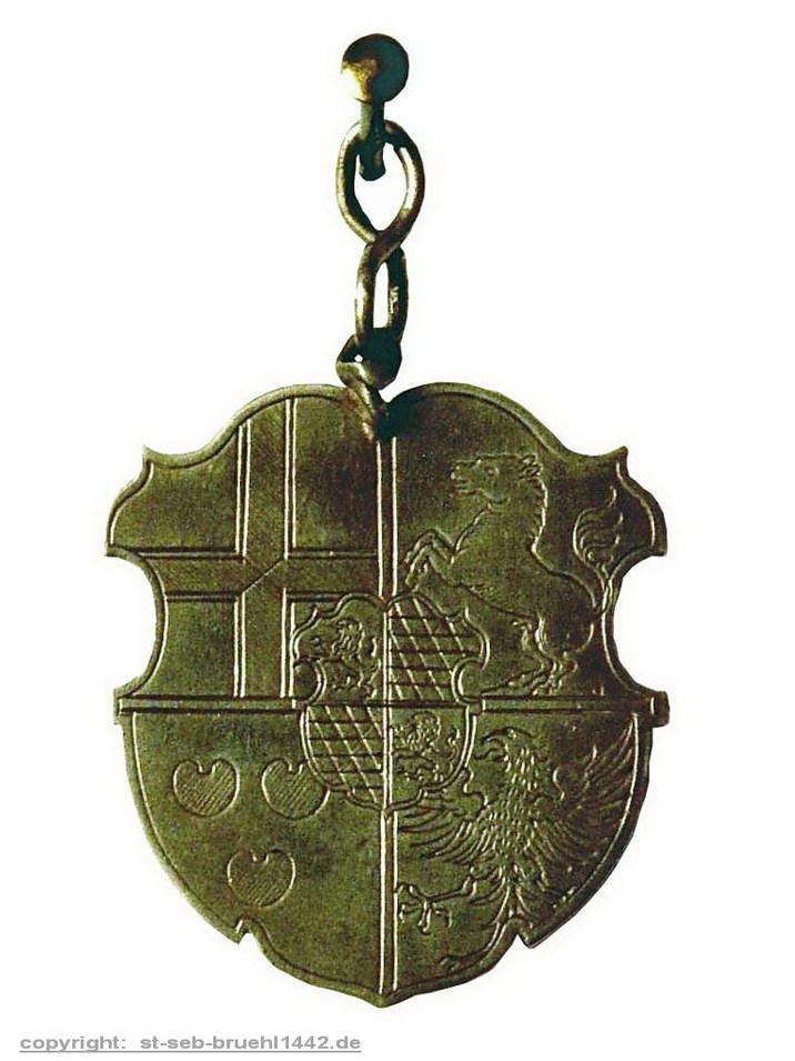 Schützenschild 1591 (Vorderseite)