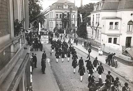 Schützenumzug 1914