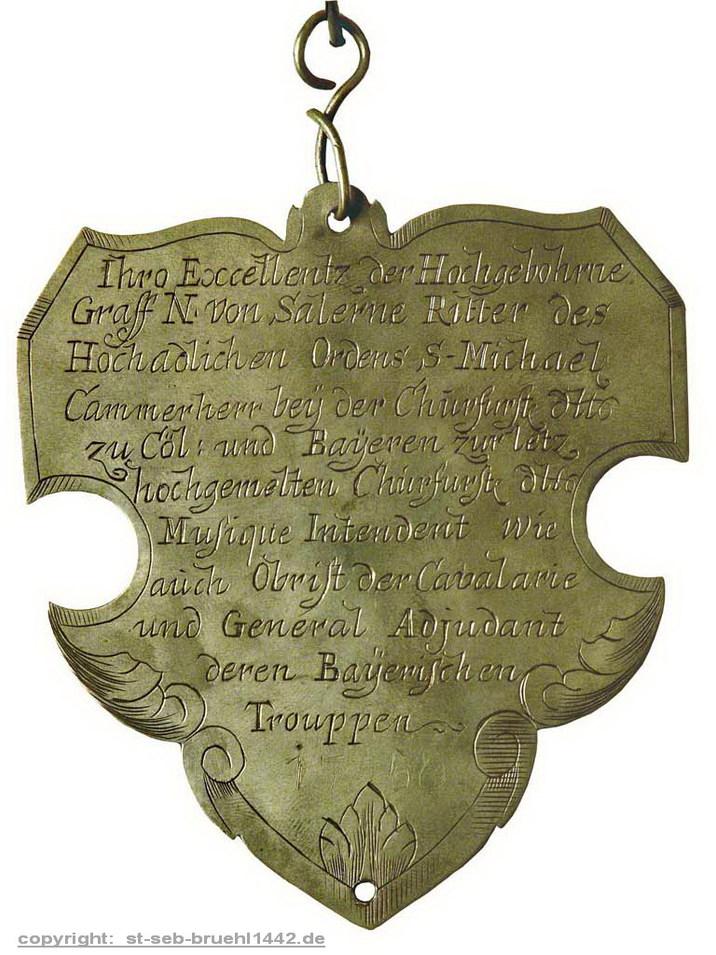 Schützensilber 1746