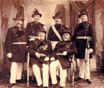 Schützenjahr 1908 - 1910