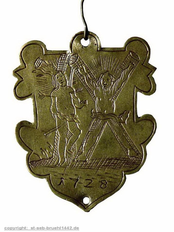 Schützenschild 1728