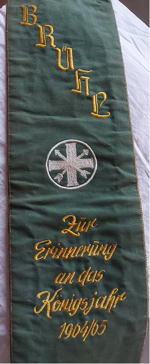Fahnenband 1965 Vorderseite