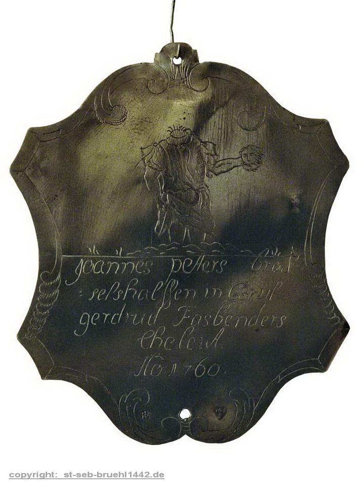 Schützenschild 1760