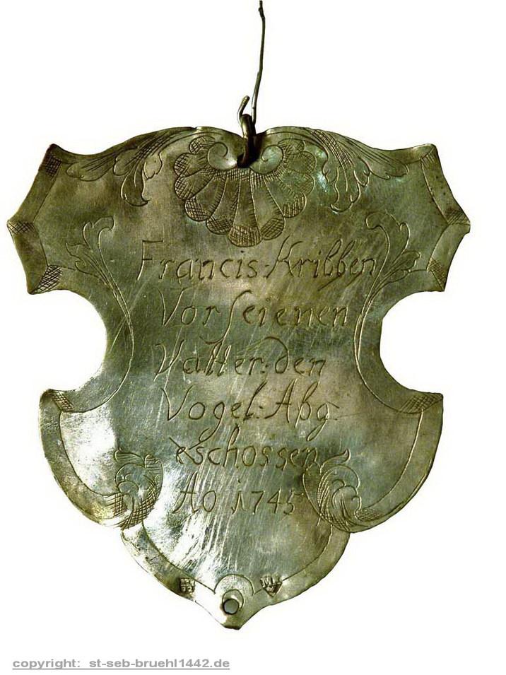 Schützensilber 1745