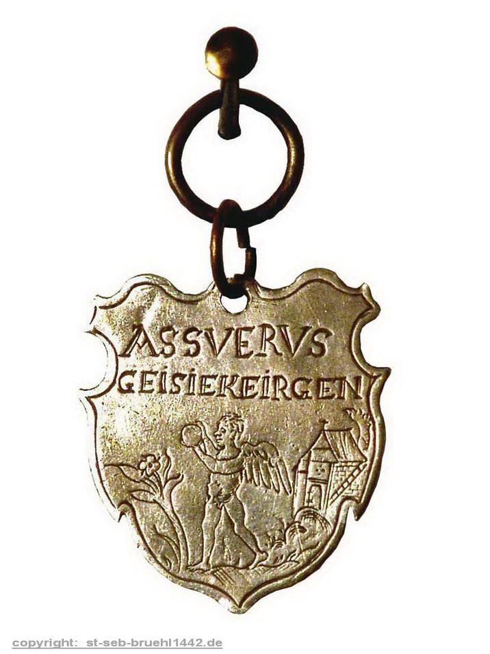 Schützenschild 1575 (Vorderseite)