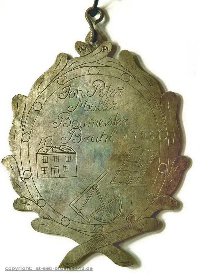 Schützenschild 1788