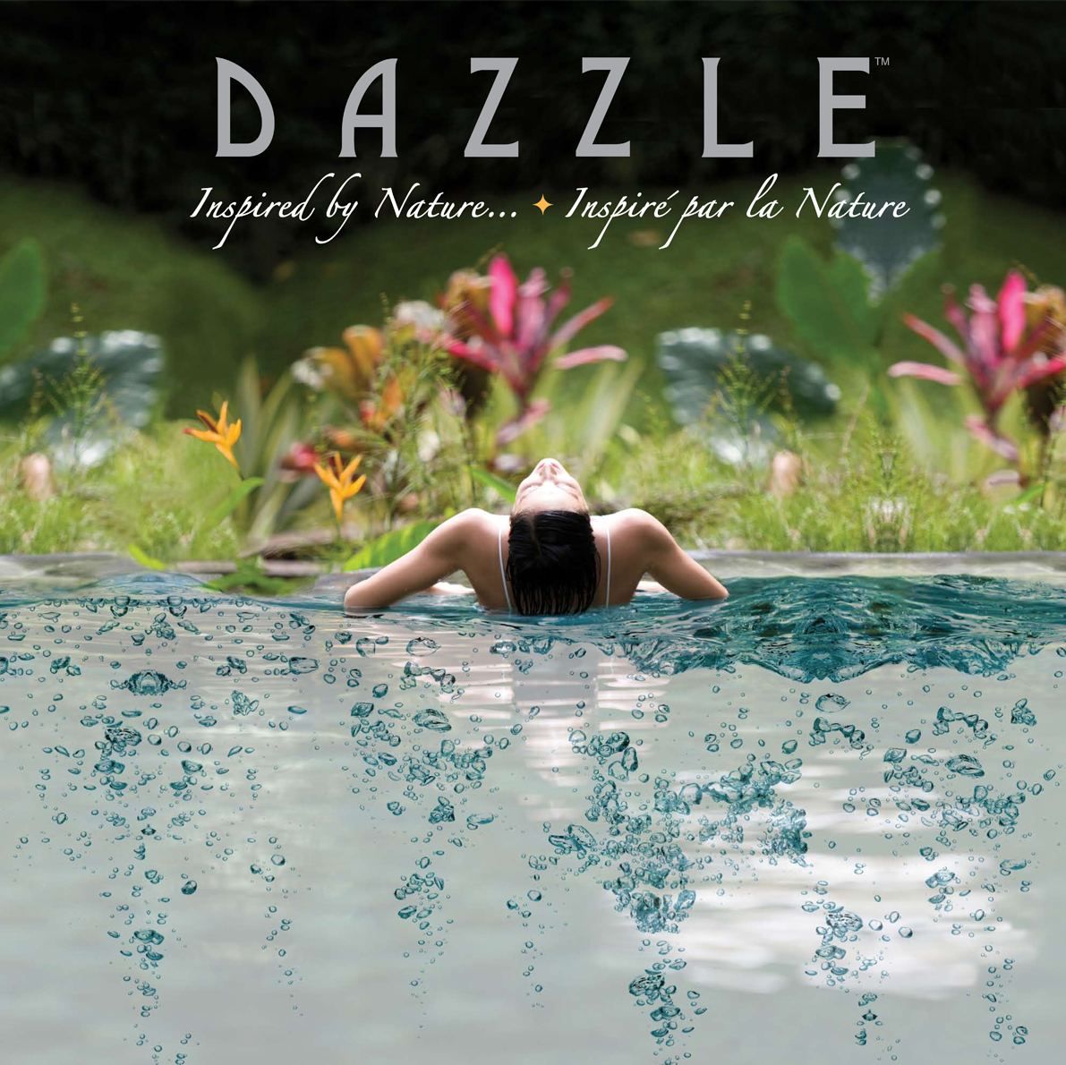 Dazzle Hot Tub, Print Design