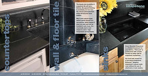 Green Mountain Soapstone brochure, DesignWorks, NH
