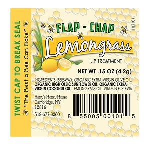 Flap Chap labels, DesignWorks, NH