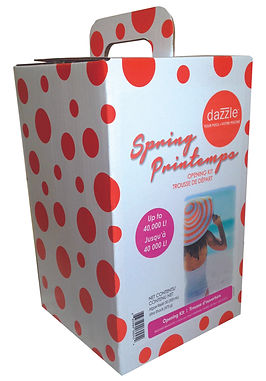 DAZZLE Spring Kit box, Backyard Brands, DesignWorks, NH
